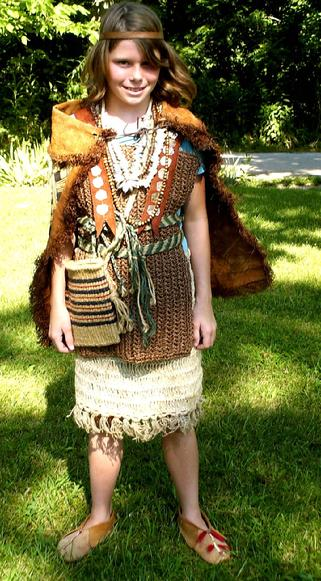 Native American Mississippian Indian Clothing